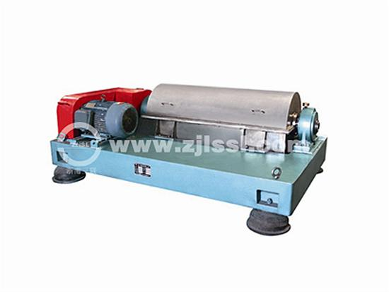 Single Motor Horizontal Screw Centrifuge Products Zhejiang Sanlian Environmental Machinery